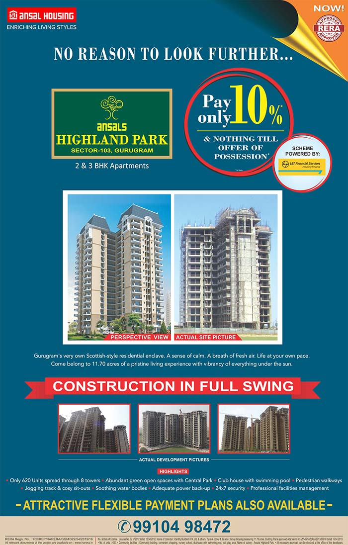Top Real Estate Developers in India | Ansal Housing