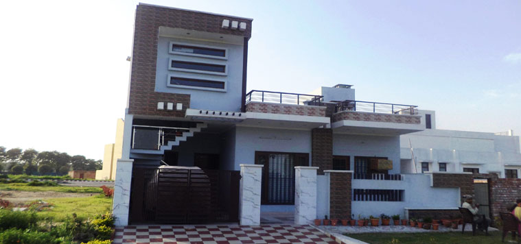 home architecture karnal home mansion